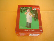 Three Stooges Ornament Carlton Cards Heirloom Larry Cooking Up Trouble 2001