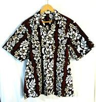 Aloha Republic Men's Short Sleeve Hawaiian Shirt Size XXL 2XL Made in Hawaii!