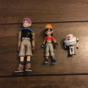 Dragon Ball GT JAKKS Pacific Pan Trunks & Giru Action Figures 2004