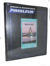 Pimsleur KOREAN Language (Level 1 One) 16 CD 30 Lessons Ret $ 345.00
