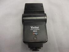 Vivitar 2800-D AUTO THYRISTOR ELECTRONIC BOUNCE FLASH FITS CANON/NIKON/RICOH