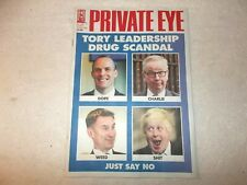 Private Eye Magazine #1498 14th June 2019 Tory Leadership Drug Scandal!