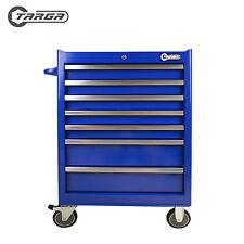 "TARGA 26"" 7 Drawer  MECHANICS TOOL CHEST Roller Cabinet  BLUE trolley box TR26B"