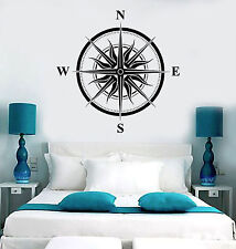 Vinyl Wall Decal Wind Rose Sun Nautical House Interior Stickers Mural (ig3998)