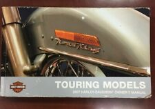 New Listing2007 Harley-Davidson Touring Owners Manual Part No. 99466-07