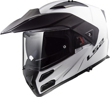 Ls2 Casque Moto Modular Ff324 Metro Evo Gloss Blanc 3xl