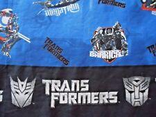 Transformers Twin Flat Sheet 2007