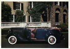 """1936 Ford """" Phaeton """" Car of President Franklin Delano Roosevelt --- Postcard"""
