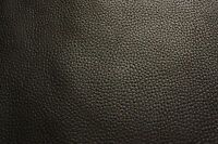 20x10 cm BALCK FULL GRAIN LEATHER REMNANTS SOFT COWHIDE offcuts 2.5mm thick