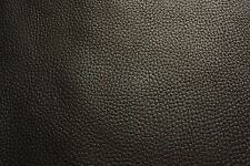 15x15cm BLACK LEATHER REMNANTS OFF CUT FULL GRAIN SOFT COWHIDE  2.5mm thick