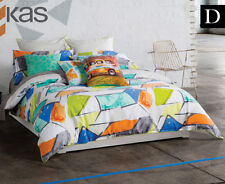 Cotton Sateen KAS Geometric Quilt Covers