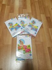 Lot 4 Intex Swimming Arm Bands Ages 3-6 Swim Floaties Floaty Pool Toy Inflatable