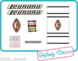 Kit stickers adesivi per bici vintage LEGNANO 2 - Legnano bici