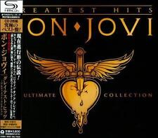Bon Jovi Ultimate Collection SHM JAPAN 2 CD OBI sealed new SHMCD