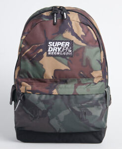 Superdry Mens Camo Montana Rucksack Size 1Size