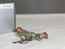 THOMAS GUNN GW030B US ARMY INFANTRYMAN SHOT IN FACE METAL TOY SOLDIER FIGURE
