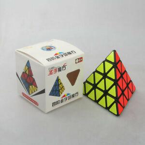 4x4x4 Magic Cube Puzzle Brain Trainer Educational Toys Triangle pyramid