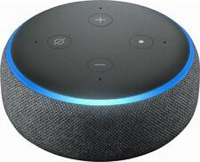 Amazon Echo Dot 3rd Generation w/ Alexa Voice Media Device - Charcoal BRAND NEW@