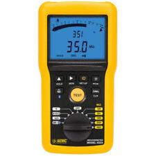 Aemc 6534 215555digital Megohmmeterbargraphalarmbt And Software