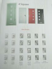 4 square  Composite Door finesse glass  (£720.00 Fully Fitted)