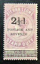 SIERRA LEONE 59a Very Nice Mint No Gum Issue  OD h153