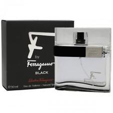 F Ferragamo Pour Homme Black by Salvatore Ferragamo EDT Spray 1.7 For Men * NEW