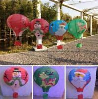 12″ Hot Air Xmas Balloon Paper Lantern Room Decoration Party Decor