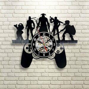 Playstation Decor Vinyl Record Clock Gaming Decor Wall Clock Vinyl Playstation