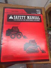 Aem Safety Manual For Skid Steer