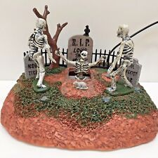 LONG TIME NO SEE Lighted & Animated Table Accent Lemax Spooky Town Halloween New