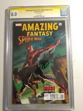 AMAZING FANTASY 15: Spider-Man! Reprint #nn CGC SS Stan Lee RARE