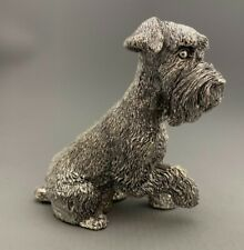 More details for sterling silver schnauzer sculpture