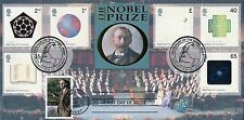 GB. FDC 2001 Benham  BLCS 213 Nobel Prize, Doubled with Chicago USA
