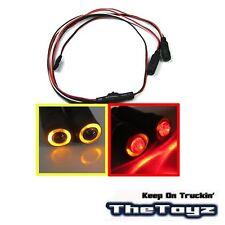 1/10 1/16 1/18 RC Car Angel Halo Eyes LED Lights TOYZ 701 Yellow Red.
