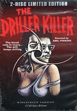 Driller Killer DVD Cult Epics 2 Disc LTD & Abel Ferrara Short Films Video Nasty