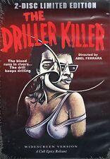 Driller Killer DVD Cult Epics 2 Disc LTD & Abel Ferrara Short Films Video Nasty