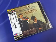 Japan 4 CD MOZART Sonatas for Piano & Violin INGRID HAEBLER & HENRYK SZERYNG