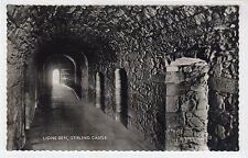 LIONS DEN, STIRLING CASTLE: Stirlingshire postcard (C15070)
