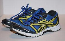 Reebok Ultimatic Men's Running Shoes Blue & Yellow Mesh Size 6 FREE Shipping!!