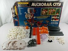 1978 Mego Micropolis Micronauts Microrail City Used Almost Complete/Top of Box