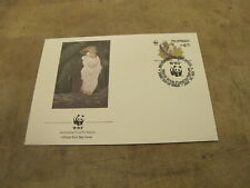 1991 World Wildlife Fund WWF First Day Cover - Philippines - Eagle