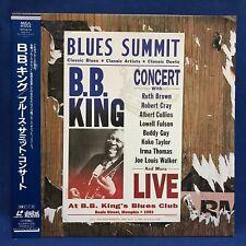 B.B.King Blues Summit Concert 1993 Japan LD Laserdisc MVLM-20 Robert Cray