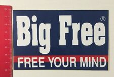 Aufkleber/Sticker: Big Free - Free Your Mind (01061699)