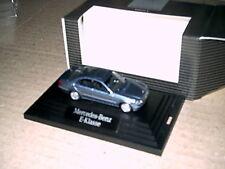 Modellauto Mercedes-Benz E-Klasse  teallitblaumet, M 1:87   werbemodell