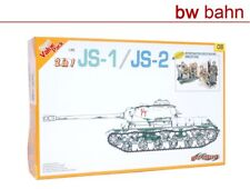 cyber-hobby Dragon 1:35 Bausatz 9108 (2 in 1) JS-1 / JS-2 Russland Panzer WWII