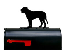 Mastiff Dog Mailbox Topper / Plaque / Sign - Made in USA