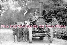 BK 834 - Fowler Road Loco, Traction Engine, Reading, Berkshire - 6x4 Photo
