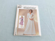Simplicity Pattern 7847 ~ Women Misses Dress in 2 lengths ~ Size 18 20 22~ Uncut