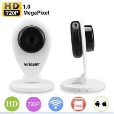 Wireless WiFi Funk Videoüberwachung 720P ONVIF CCTV IP Kamera SD Netzwerk CAM SU