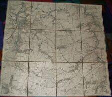 WALDHEIM (Sachsen) 62 - Topographische Karte Sachsen (Messtischblatt) 1:25.000